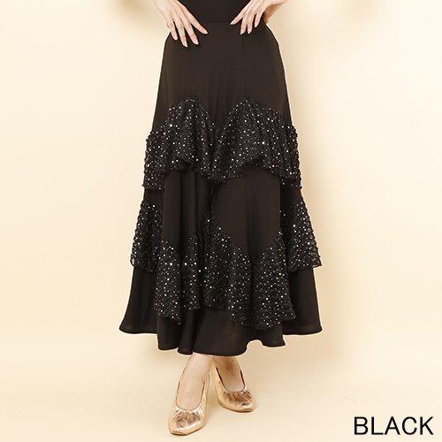 リボンヤーンのスペシャルなダンススカート♪