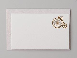 ひとことカード 自転車