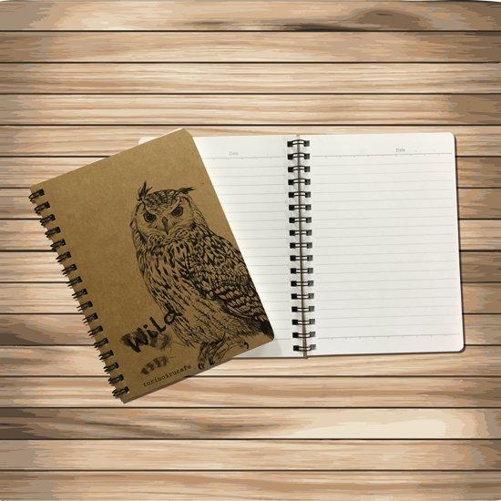 鳥のいるカフェ リングノート「Wildベンガル」