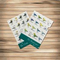 鳥のいるカフェクリアファイル「オカメ&セキセイ」