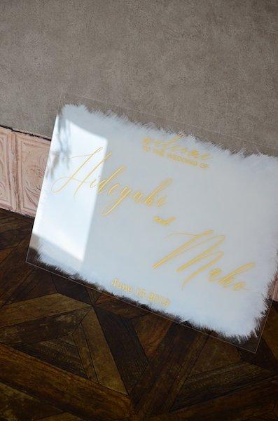 A2サイズウェルカムボード(ホワイトカラー)