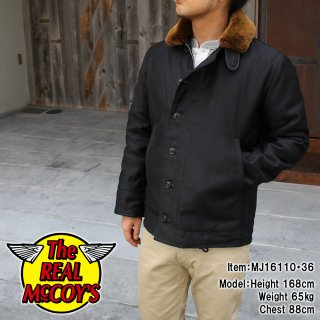 <img class='new_mark_img1' src='http://www.realmccoys-nagoya.co.jp/img/new/icons15.gif' style='border:none;display:inline;margin:0px;padding:0px;width:auto;' />N-1 NAVY DECK JACKET / SPL �ǥå����㥱�å�