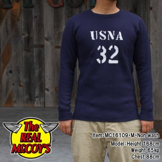 <img class='new_mark_img1' src='http://www.realmccoys-nagoya.co.jp/img/new/icons15.gif' style='border:none;display:inline;margin:0px;padding:0px;width:auto;' />MILITARY THERMAL SHIRT / USNA 32 �����ޥ�T�����
