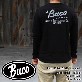 <img class='new_mark_img1' src='https://img.shop-pro.jp/img/new/icons15.gif' style='border:none;display:inline;margin:0px;padding:0px;width:auto;' />BUCO TEE LONG SLEEVE / A BUCO PURODUCT Tシャツ
