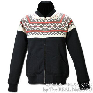 <img class='new_mark_img1' src='https://img.shop-pro.jp/img/new/icons15.gif' style='border:none;display:inline;margin:0px;padding:0px;width:auto;' />SNOW PATTERN SWEATSHIRT  フルジップスウェットシャツ