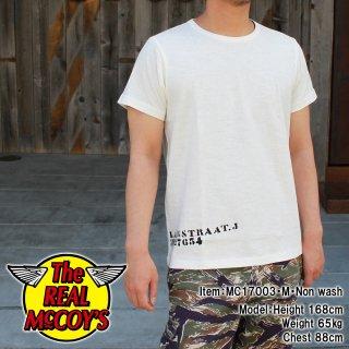 UNDERSHIRTS, COTTON, SUMMER / STENCIL Tシャツ