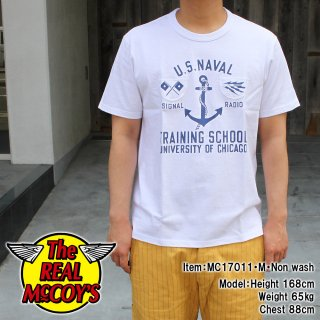 MILITARY TEE / U.S.N.TRAINING SCHOOL Tシャツ