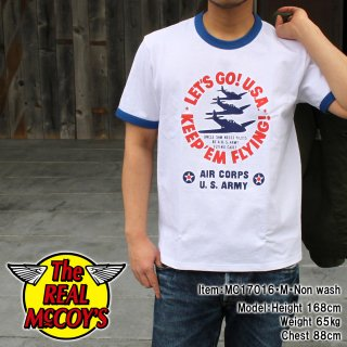 <img class='new_mark_img1' src='//img.shop-pro.jp/img/new/icons15.gif' style='border:none;display:inline;margin:0px;padding:0px;width:auto;' />MILITARY TEE / KEEP'EM FLYING Tシャツ