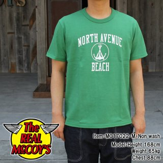<img class='new_mark_img1' src='//img.shop-pro.jp/img/new/icons15.gif' style='border:none;display:inline;margin:0px;padding:0px;width:auto;' />JOE McCOY TEE / NORTH AVENUE BEACH Tシャツ