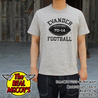 <img class='new_mark_img1' src='//img.shop-pro.jp/img/new/icons15.gif' style='border:none;display:inline;margin:0px;padding:0px;width:auto;' />JOE McCOY TEE / FOOTBALL Tシャツ