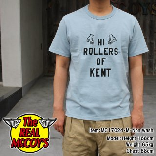 <img class='new_mark_img1' src='//img.shop-pro.jp/img/new/icons15.gif' style='border:none;display:inline;margin:0px;padding:0px;width:auto;' />JOE McCOY TEE / HI ROLLERS Tシャツ