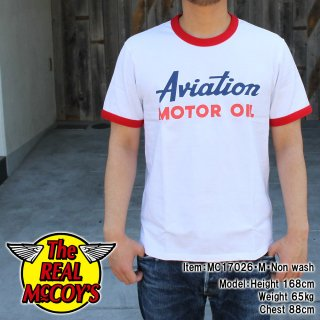 <img class='new_mark_img1' src='//img.shop-pro.jp/img/new/icons15.gif' style='border:none;display:inline;margin:0px;padding:0px;width:auto;' />JOE McCOY TEE / AVIATION Tシャツ