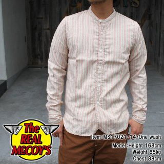 <img class='new_mark_img1' src='//img.shop-pro.jp/img/new/icons15.gif' style='border:none;display:inline;margin:0px;padding:0px;width:auto;' />DOUBLE DIAMOND BAND-COLLAR SHIRT バンドカラーシャツ