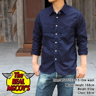 <img class='new_mark_img1' src='//img.shop-pro.jp/img/new/icons15.gif' style='border:none;display:inline;margin:0px;padding:0px;width:auto;' />DOUBLE DIAMOND INDIGO SHIRT インディゴシャツ