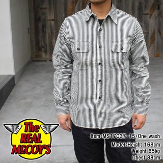 <img class='new_mark_img1' src='https://img.shop-pro.jp/img/new/icons15.gif' style='border:none;display:inline;margin:0px;padding:0px;width:auto;' />8HU HICKORY SHIRT ヒッコリーストライプシャツ