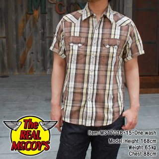 <img class='new_mark_img1' src='//img.shop-pro.jp/img/new/icons15.gif' style='border:none;display:inline;margin:0px;padding:0px;width:auto;' />JM FLANNEL COWBOYSHIRT S/S フランネルカウボーイシャツ