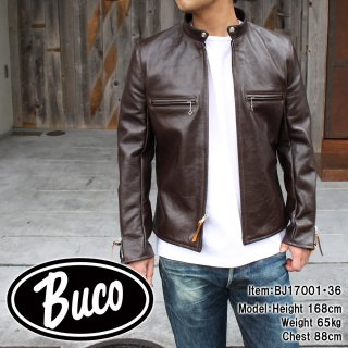 <img class='new_mark_img1' src='//img.shop-pro.jp/img/new/icons15.gif' style='border:none;display:inline;margin:0px;padding:0px;width:auto;' />BUCO J-100 JACKET HORSE HIDE / BROWN ライダースジャケット