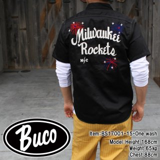 <img class='new_mark_img1' src='https://img.shop-pro.jp/img/new/icons15.gif' style='border:none;display:inline;margin:0px;padding:0px;width:auto;' />BUCO CLUB SHIRT / MILWAUKEE PIRATES クラブシャツ