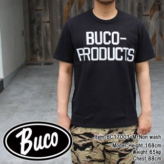 <img class='new_mark_img1' src='//img.shop-pro.jp/img/new/icons15.gif' style='border:none;display:inline;margin:0px;padding:0px;width:auto;' />BUCO TEE / BUCO-PRODUCTS Tシャツ