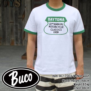<img class='new_mark_img1' src='//img.shop-pro.jp/img/new/icons15.gif' style='border:none;display:inline;margin:0px;padding:0px;width:auto;' />BUCO TEE / DAYTONA Tシャツ