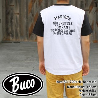<img class='new_mark_img1' src='//img.shop-pro.jp/img/new/icons15.gif' style='border:none;display:inline;margin:0px;padding:0px;width:auto;' />BUCO TEE / CHECKER FLAG Tシャツ