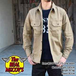 <img class='new_mark_img1' src='//img.shop-pro.jp/img/new/icons15.gif' style='border:none;display:inline;margin:0px;padding:0px;width:auto;' />M-38 KHAKI SHIRT カーキシャツ
