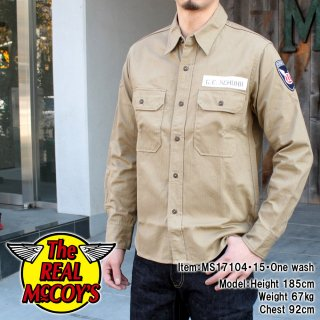 <img class='new_mark_img1' src='//img.shop-pro.jp/img/new/icons15.gif' style='border:none;display:inline;margin:0px;padding:0px;width:auto;' />M-38 KHAKI SHIRT / PARACHUTE カーキシャツ