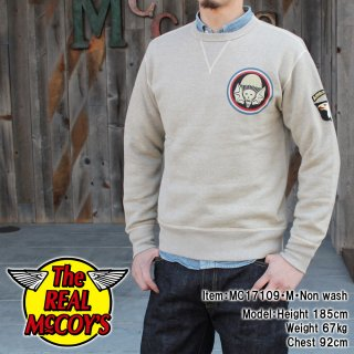 <img class='new_mark_img1' src='//img.shop-pro.jp/img/new/icons15.gif' style='border:none;display:inline;margin:0px;padding:0px;width:auto;' />MILITARY SWEATSHIRT / AIR BOURNE スウェットシャツ
