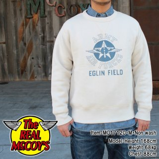 <img class='new_mark_img1' src='https://img.shop-pro.jp/img/new/icons15.gif' style='border:none;display:inline;margin:0px;padding:0px;width:auto;' />MILITARY SWEATSHIRT / EGLIN FIELD スウェットシャツ