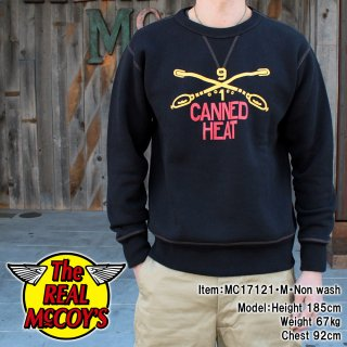 <img class='new_mark_img1' src='//img.shop-pro.jp/img/new/icons15.gif' style='border:none;display:inline;margin:0px;padding:0px;width:auto;' />MILITARY SWEATSHIRT / CANNED HEAT スウェットシャツ