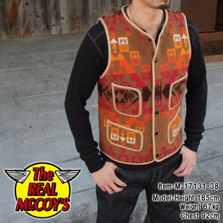 <img class='new_mark_img1' src='https://img.shop-pro.jp/img/new/icons15.gif' style='border:none;display:inline;margin:0px;padding:0px;width:auto;' />NATIVE BLANKET VEST ネイティブブランケットベスト