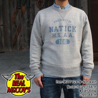 <img class='new_mark_img1' src='//img.shop-pro.jp/img/new/icons15.gif' style='border:none;display:inline;margin:0px;padding:0px;width:auto;' />LOOP WHEEL SWEATSHIRT / NATICK H.S.