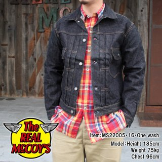 <img class='new_mark_img1' src='https://img.shop-pro.jp/img/new/icons15.gif' style='border:none;display:inline;margin:0px;padding:0px;width:auto;' />REAL McCOY'S DENIM JACKET Lot.001XXJ デニムジャケット