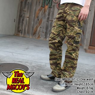 <img class='new_mark_img1' src='https://img.shop-pro.jp/img/new/icons15.gif' style='border:none;display:inline;margin:0px;padding:0px;width:auto;' />TIGER CAMOFLAGUE TROUSERS / JOHN WAYNE 'CRAZY PATTERN' タイガートラウザー
