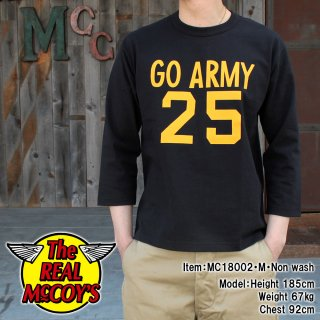 <img class='new_mark_img1' src='https://img.shop-pro.jp/img/new/icons15.gif' style='border:none;display:inline;margin:0px;padding:0px;width:auto;' />MILITARY 3/4 SLEEVE JERSEY / GO ARMY Tシャツ