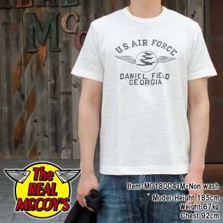 AMERICAN ATHLETIC TEE / USAF DANIEL FIELD S/S Tシャツ
