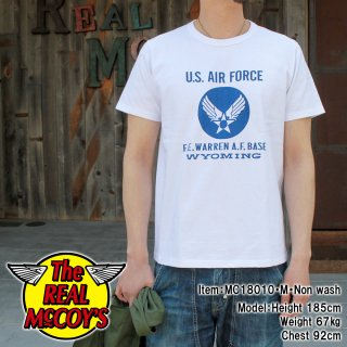 <img class='new_mark_img1' src='//img.shop-pro.jp/img/new/icons15.gif' style='border:none;display:inline;margin:0px;padding:0px;width:auto;' />MILITARY TEE / U.S. AIR FORCE WARREN BASE S/S Tシャツ