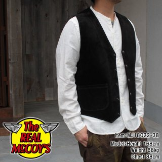 <img class='new_mark_img1' src='https://img.shop-pro.jp/img/new/icons15.gif' style='border:none;display:inline;margin:0px;padding:0px;width:auto;' />ROUGHOUT LEATHER VEST レザーベスト