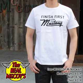 <img class='new_mark_img1' src='//img.shop-pro.jp/img/new/icons15.gif' style='border:none;display:inline;margin:0px;padding:0px;width:auto;' />JOE McCOY TEE / MUSTANG S/S Tシャツ