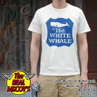 <img class='new_mark_img1' src='https://img.shop-pro.jp/img/new/icons15.gif' style='border:none;display:inline;margin:0px;padding:0px;width:auto;' />JOE McCOY TEE / WHITE WHALE S/S Tシャツ