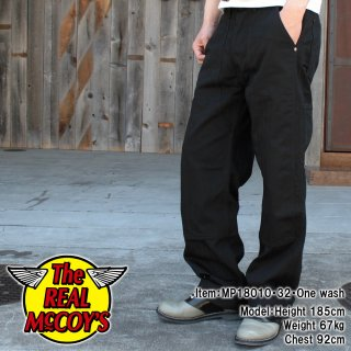 <img class='new_mark_img1' src='https://img.shop-pro.jp/img/new/icons15.gif' style='border:none;display:inline;margin:0px;padding:0px;width:auto;' />8HU BLACK HBT DOUBLE-KNEE WORK TROUSERS ペインターパンツ