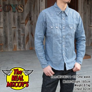 <img class='new_mark_img1' src='https://img.shop-pro.jp/img/new/icons15.gif' style='border:none;display:inline;margin:0px;padding:0px;width:auto;' />JM CHAMBRAY WESTERN SHIRT L/S シャンブレーシャツ