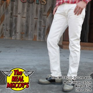 <img class='new_mark_img1' src='//img.shop-pro.jp/img/new/icons15.gif' style='border:none;display:inline;margin:0px;padding:0px;width:auto;' />JOE McCOY WHITE DENIM PANTS デニムパンツ