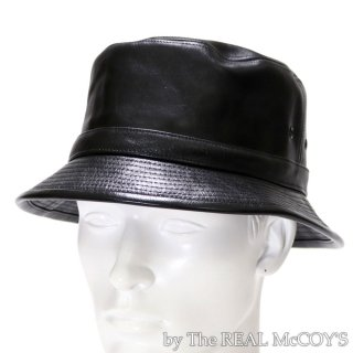 <img class='new_mark_img1' src='https://img.shop-pro.jp/img/new/icons58.gif' style='border:none;display:inline;margin:0px;padding:0px;width:auto;' />HORSEHIDE PORKPIE HAT ポークパイハット ホースハイド レザーハット