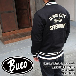 <img class='new_mark_img1' src='https://img.shop-pro.jp/img/new/icons15.gif' style='border:none;display:inline;margin:0px;padding:0px;width:auto;' />BUCO F/Z SPECTATOR SWEATSHIRT / DODGE CITY フルジップスウェットシャツ