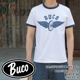 <img class='new_mark_img1' src='//img.shop-pro.jp/img/new/icons15.gif' style='border:none;display:inline;margin:0px;padding:0px;width:auto;' />BUCO TEE / FLYING WHEEL S/S Tシャツ