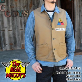 <img class='new_mark_img1' src='https://img.shop-pro.jp/img/new/icons14.gif' style='border:none;display:inline;margin:0px;padding:0px;width:auto;' />【18FW PRE-ORDER】WWII TANKER VEST
