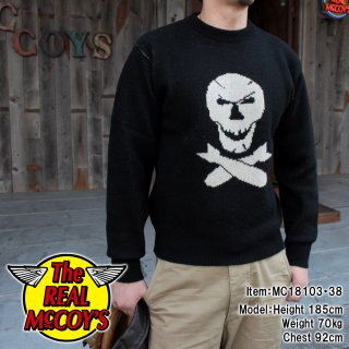 <img class='new_mark_img1' src='https://img.shop-pro.jp/img/new/icons15.gif' style='border:none;display:inline;margin:0px;padding:0px;width:auto;' />MILITARY JAQUARD SWEATER / JOLLY ROGER セーター