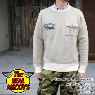 <img class='new_mark_img1' src='https://img.shop-pro.jp/img/new/icons14.gif' style='border:none;display:inline;margin:0px;padding:0px;width:auto;' />【18FW PRE-ORDER】MILITARY POCKET SWEATSHIRT / USAC
