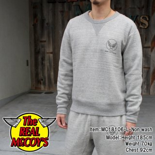 <img class='new_mark_img1' src='https://img.shop-pro.jp/img/new/icons15.gif' style='border:none;display:inline;margin:0px;padding:0px;width:auto;' />MILITARY PRINT SWEATSHIRT / ARMY AIR FORCE スウェットシャツ